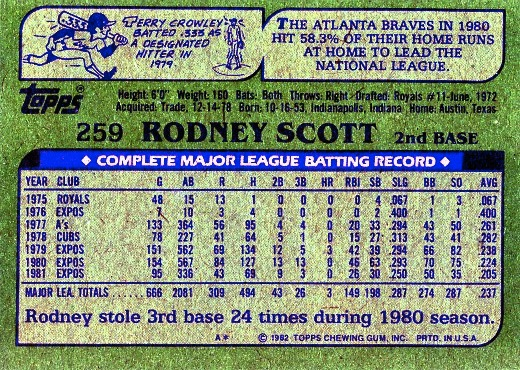 Rodney Scott an unlikely king of the walk-offs