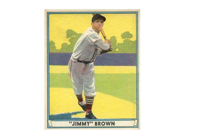 Baseball had a Jim(my) Brown too