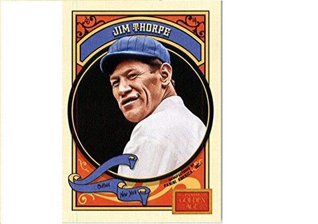 Jim Thorpe is safe at home
