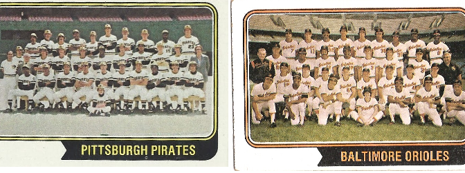 1974 Pirates, Orioles oft-forgotten, but had memorable walk-off finishes
