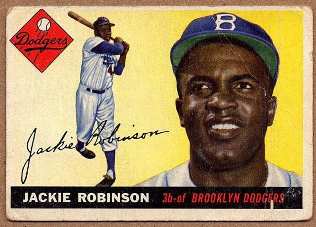 Did you see Jackie Robinson hit that walk-off?