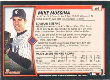 Book Excerpt: Mike Mussina pitches 8 2/3 perfect innings