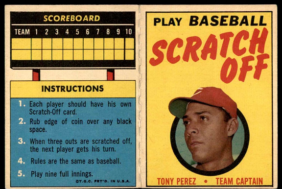 Tony Pérez was a walk-off standout